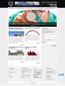 Website Institucional e blog multiconteúdo OM Consultor, especializado em consutoria de seguros diversos na Grande São Paulo