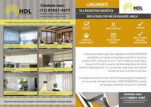Folheto Comercial HDL Cortinas e Persianas