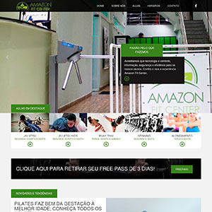 Website Mobile Amazon Fit Center