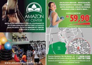 Desenvolvimento Folheto Amazon Fit Center