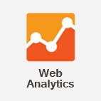 O serviço de Web Analytics oferece uma camada de inteligência a qualquer projeto web, comprovando o comportamento dos usuários em um site ou aplicativo.