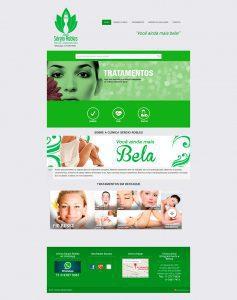 Desenvolvimento de website institucional para a Clínica Sergio Robles de emagrecimento, saúde e beleza. Ênfase nos tratamentos e resultados obtidos.