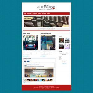 Website Institucional Julinho's Car, oficina mecânica em geral com atendimento na região da Cursino, zona sul de São Paulo